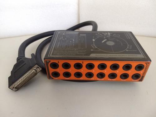 inca 88 placa de audio 8in/8out- audiotrack