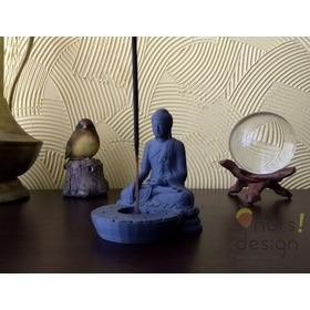 Incensário Buda Incenso Tibetano - Impresso Em 3d