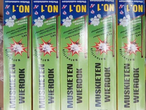 incenso contra insetos, mosquito zika, dengue são 250 caixas