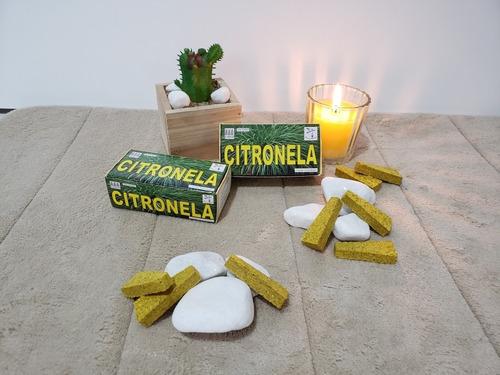 incenso de citronela (20 unid) - natureza espiritual