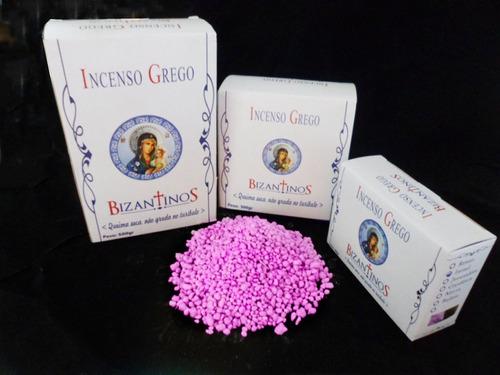 incenso grego bizantinos rosas 100gr