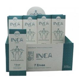 Incenso Inca 7 Ervas P/ Limpeza De Ambiente / 9 Varetas