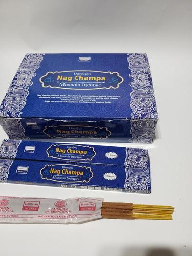 incenso massala nag champa darshan 25cx de 15gramas- full