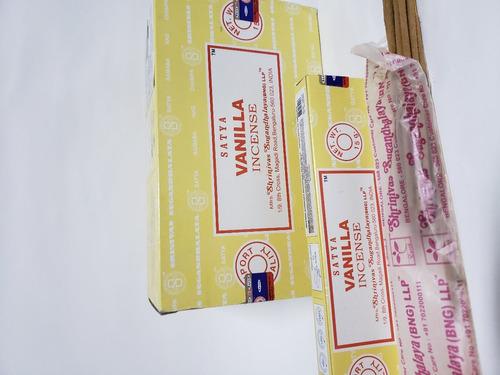 incenso nag champa satya aromas mx 12cx d15gr+brinde-full