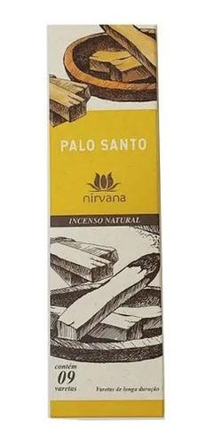 incenso nirvana palo santo c/ 9 varetas