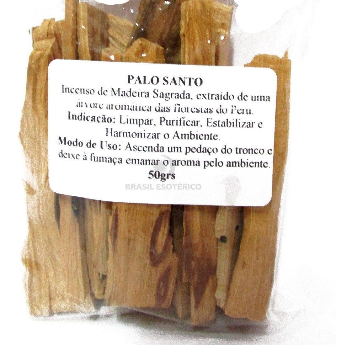 Palo Santo Incenso.Incenso Palo Santo Sagrado 100 Natural 50 Gramas
