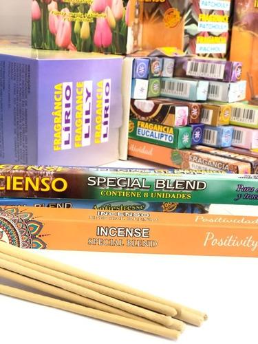 incenso special blend sortidos 25 caixas com 8 varetas