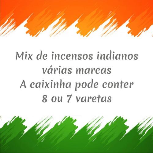incenso taj mahal indiano 10 caixas aleatorias de 8 varetas