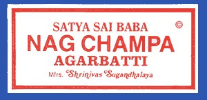 incensos sai baba nag champa satya indiano de alta qualidade