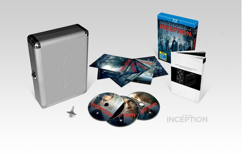 inception (limited edition in briefcase) (2010) [blu-ray]