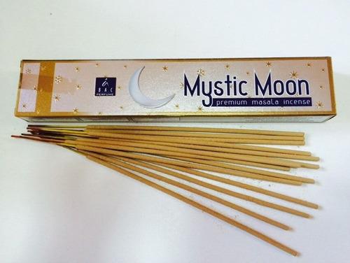 incienso luna mistica - 7 paquetes con 12 varitas cada uno