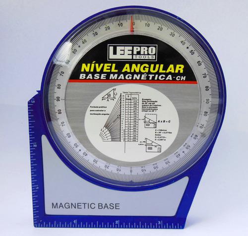 inclinometro base magnetica p/antena parabolica (lee tools)