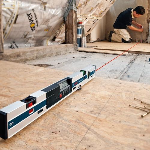 inclinómetro digital bosch gim 60l con mira laser 0-360°