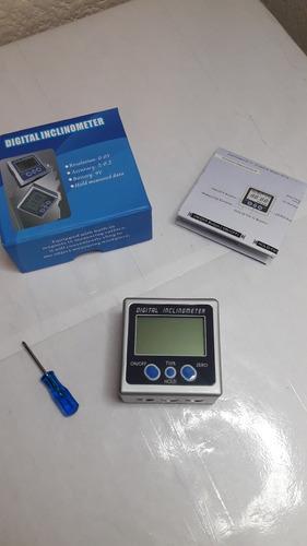 inclinometro digital metalico con base magnetica uso rudo