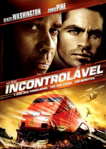 incontrolável dvd original