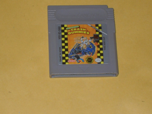 incredible crash dummies game boy gb gameboy