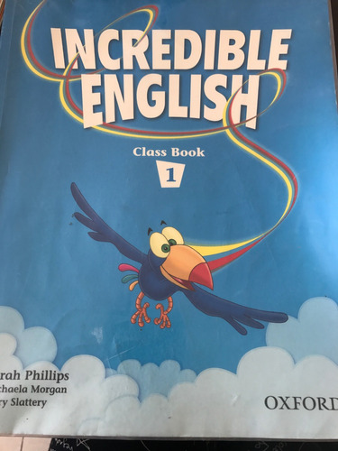 incredible english class book 1