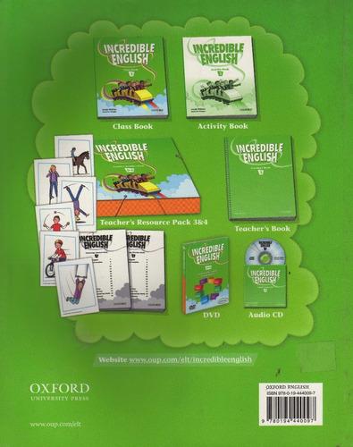 incredible english class book 3 nuevo envíos oferta