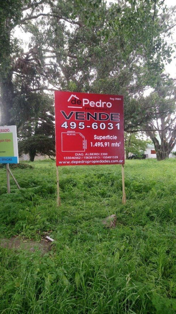 increíble lote de 1495,91m2 en barrio caisamar en venta!