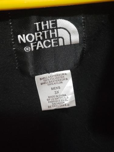 increible chamarra 3 en 1 the north face talla 3xl