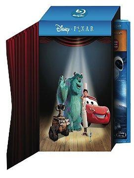 increíble colección pixar en blu-ray 6 películas