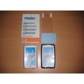 Increible Combo De 4 Accesorios Nokia Lumia 820!!!