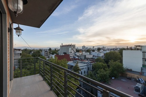 increible departamento en venta en colonia roma con iluminación natural