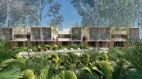 increible estudio/residencia con seguridad en medio de la selva, tulum    p2985