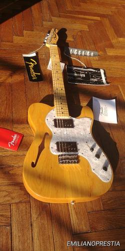 increible guitarra telecaster fender thinline 72 classic