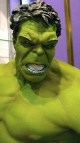 increible hulk estatua 60 cm