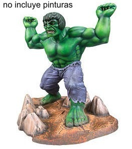 increible  hulk  para armar snap kit 1/8 mpc marvel