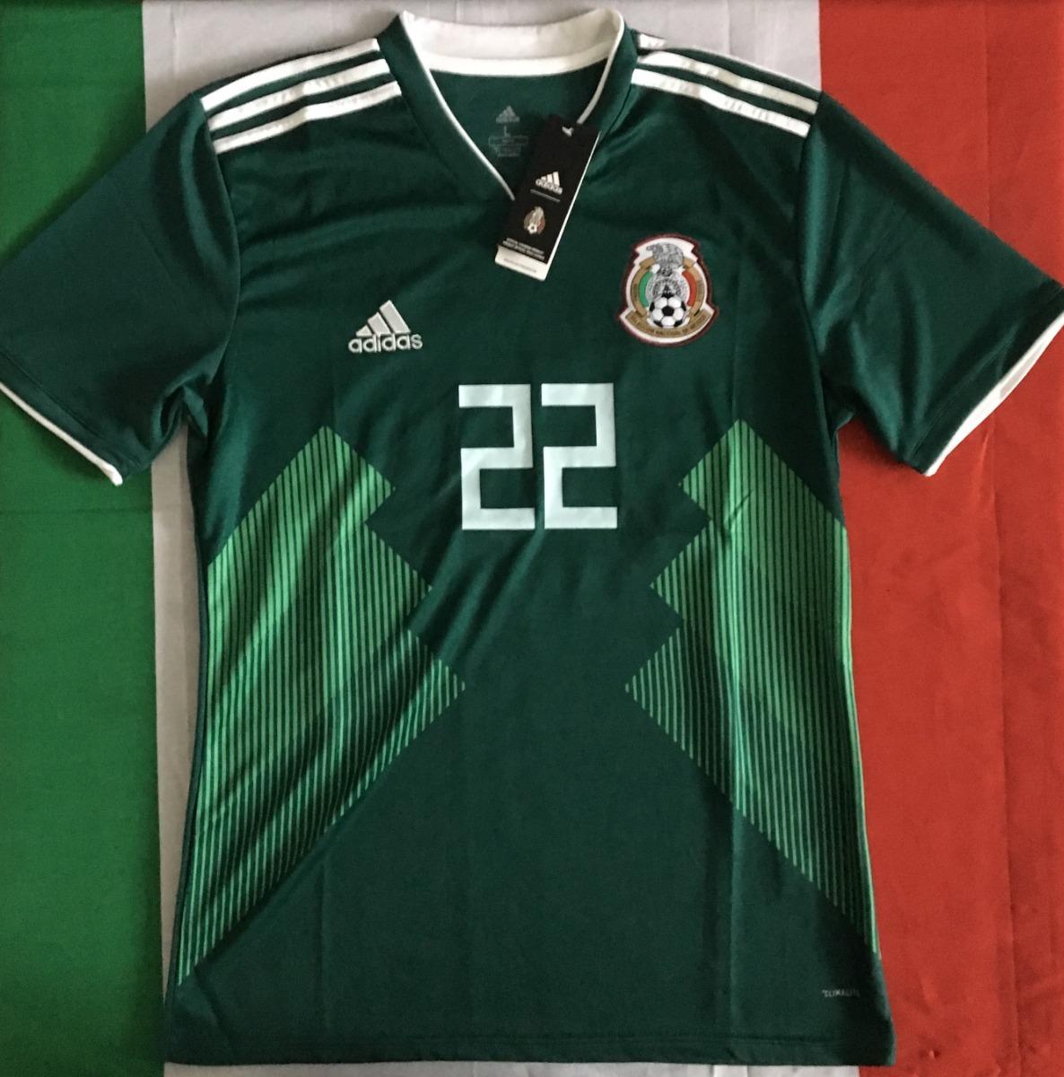 7b4e53674 increible jersey mexico mundial 2018 verde hirving lozano 22. Cargando zoom.