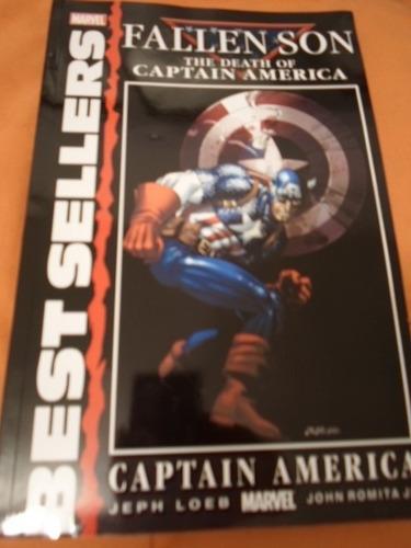 increible marvel comics capitan america fallen son