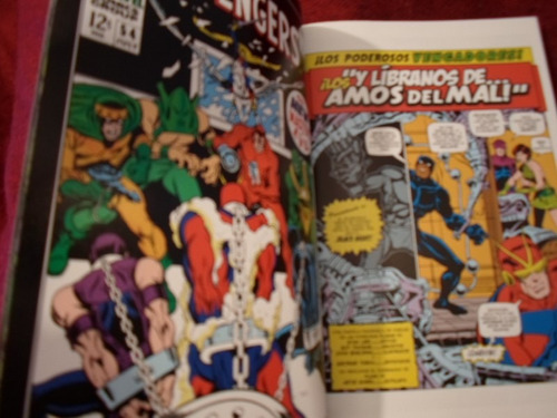 increible marvel comics lo mejor de ultron tomo compilatorio