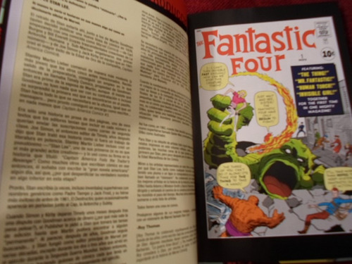increible marvel comics stan lee visionarios pasta dura