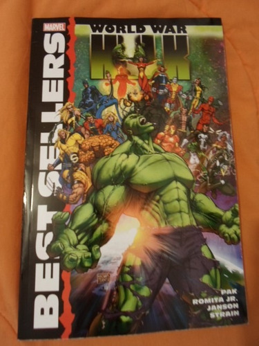 increible marvel comics world war hulk tomo compilatorio