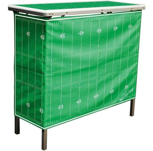 increible mesa para jardín bar bbq campo de futbol americano