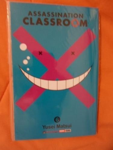 increible panini manga!! assassination classroom 5-7