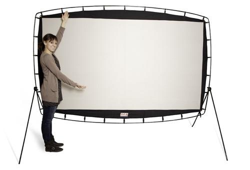 increible pantalla de proyección portátil 115  camp chef