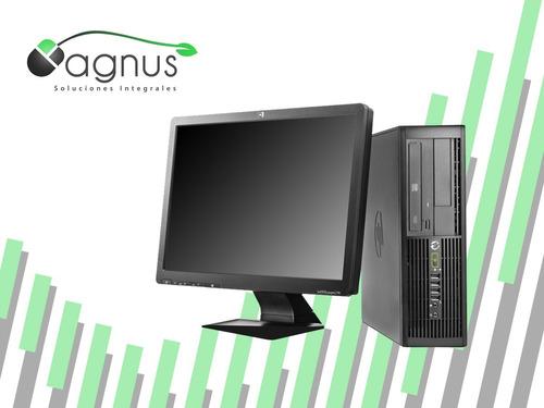 increíble!! pc hp pro4000 dual core + monitor 19 incluye iva