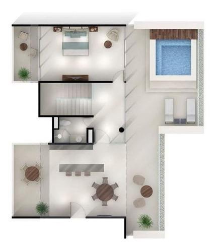 increíble penthouse turena en telchac preventa modelo 502