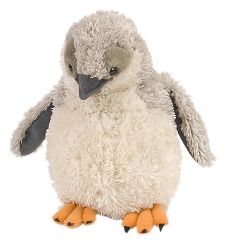 increible pinguino adelie de peluche y felpa wild republic