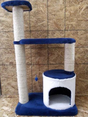 ¡increible rascadero para gato tipo torre con camita!!