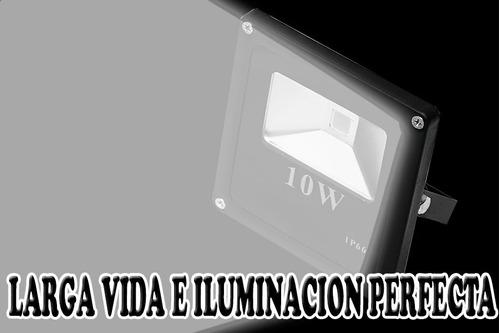increible reflector blanco puro con led ultrabrillante wooow