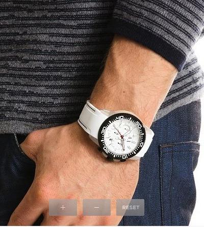 4d823c109a33 Increible Reloj Armani Exchange Color Blanco Para Caballero ...