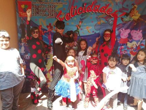 increible show de ladybug y chatnoir!!!