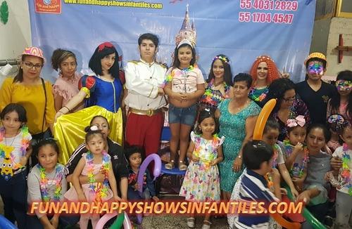increíble show de princesas en cdmx y edomex