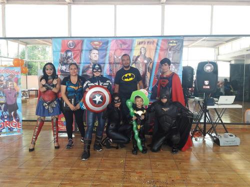 increíble show infantil de superheroes