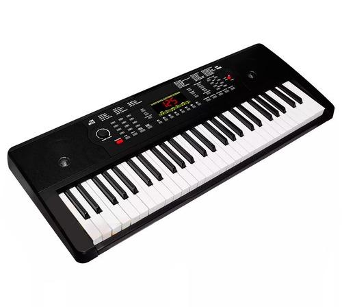 increible teclado musical electronico con salida de audio.
