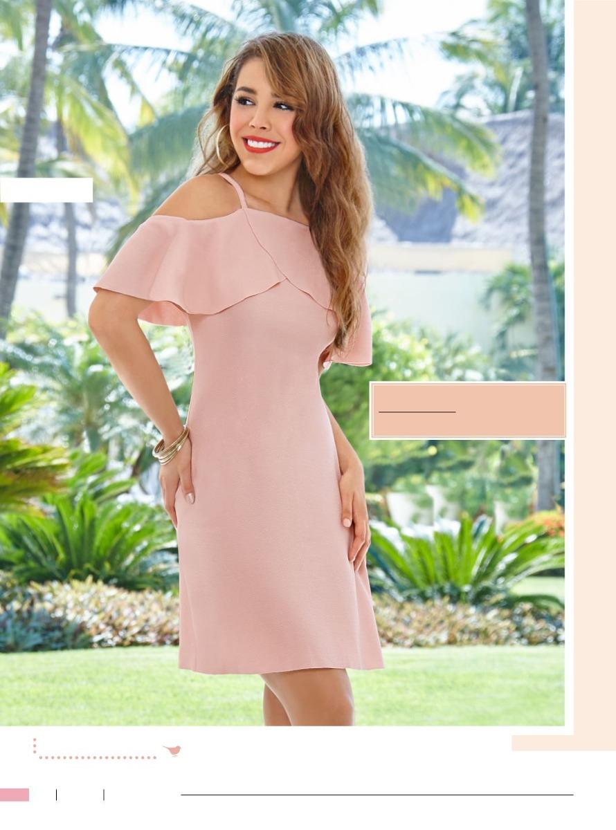 dba24f8b11 Increíble Vestido Casual-formal De Moda Cklass -   389.00 en Mercado ...